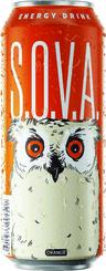 Энергетический напиток S.O.V.A.