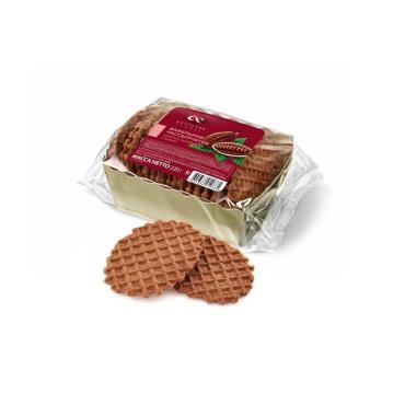 Печенье Акульчев сахарное вафельное рассыпчатое с какао