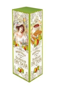 Пастила Белевская воздушная яблочная, Старые Традиции, 90 гр., картон