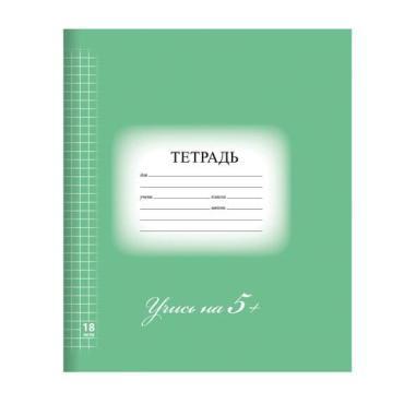 Тетрадь Brauberg Эко клетка обложка плотная мелованная бумага 18 л