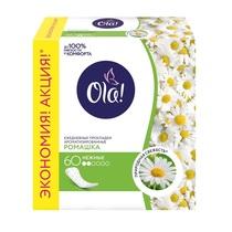 Прокладки Ola! Daily ежедневные ромашка 60 шт.
