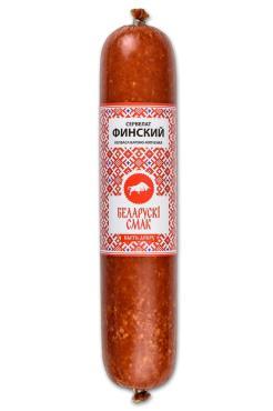 Колбаса Белорусские рецепты Финский сервелат, варено-копченый, 16 кг., оболочка