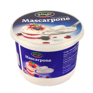 Сыр Vitalat Маскарпоне 78%, Россия