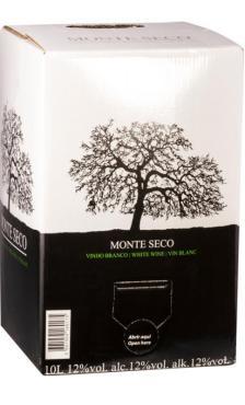 Вино Монте Секо Уайт / Monte Seco Fresh White Blend,  Вердехо, Антау Важ,  Белое Сухое, Португалия