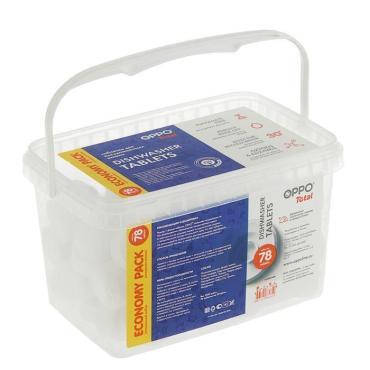 Таблетки для посудомоечной машины Oppo Total 78шт