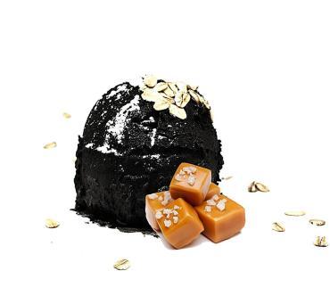 Мороженое Сливочное Черное Соленая карамель с мюсли