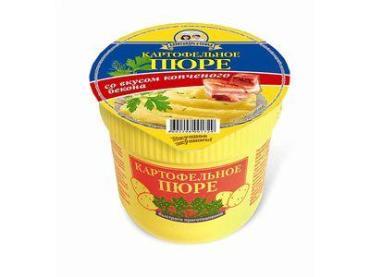 Пюре Александра и Софья Картофельное со вкусом бекона