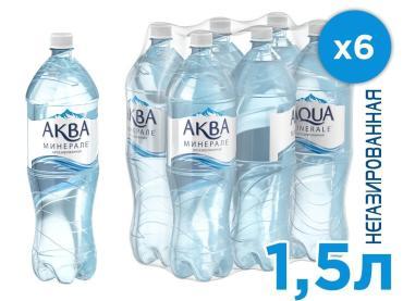 Вода Aqua Minerale питьевая негазированная столовая ,1.5 л.,ПЭТ