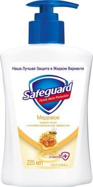 Жидкое мыло Safeguard Медовое
