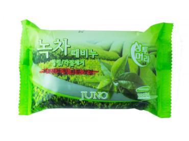 Мыло для рук и тела Juno с экстрактом Зеленого Чая