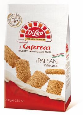 Печенье Di Leo Caserecci Paesani Integrali