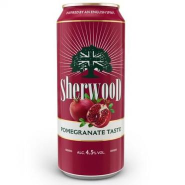 Сидр Sherwood гранатовый сладкий 4,5%