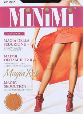 Колготки MiNiMi Magia Rete 20 Den 4/L Nero черный