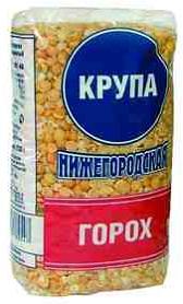 Горох Крупа Нижегородская шлифованный