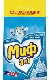 Стиральный порошок МИФ автомат Морозная свежесть 6кг