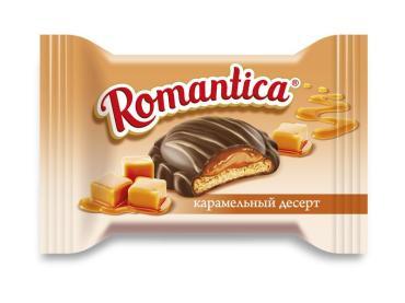 Печенье Славянка Romantic Карамельный десерт