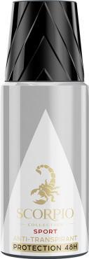 Дезодорант-спрей Scorpio Collection Sport, 150 мл., пластиковый флакон с дозатором