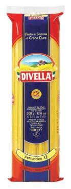Макаронные изделия Феттучине, Дивелла, 500 гр., пакет