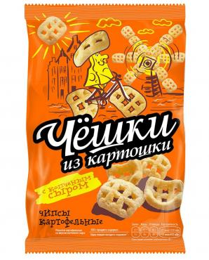 Чипсы картофельные Чёшки со вкусом копченого сыра