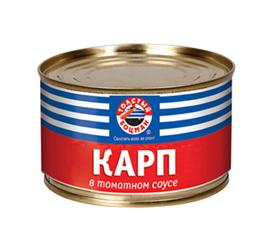 Карп Толстый боцман в томатном соусе, 230 гр., ж/б