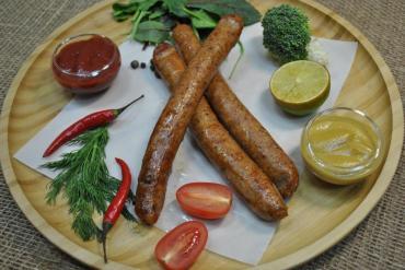 Колбаски Венские вареные, Ø 20 мм., Мясное раздолье, 250 гр., вакуумная упаковка