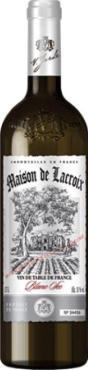 Вино столовое белое полусладкое, 10%, Maison de Lacroix, 750 мл., стекло