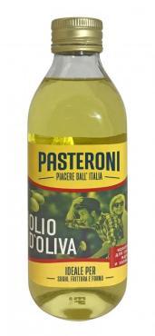 Масло оливковое рафинированное с добавлением масел оливковых нерафинированных Pasteroni, 1000 мл., стекло