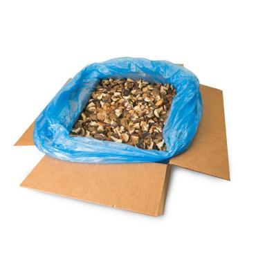 Гриб белый резаный, Ягоды Плюс, 10 кг., картонная коробка