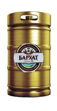 Пиво темное 3,5 % Пенный бархат легкий, Россия,  Букет Чувашии, 30 л., кега