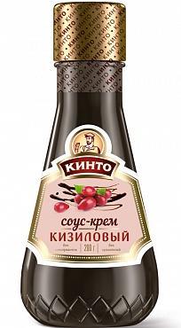 Соус-крем кизиловый Кинто, 200 гр., пластиковая бутылка