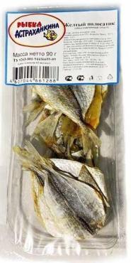 Рыбка желтый полосатик сушеная Астраханкина рыбка