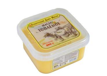Масло топленое  99%, Белорусский Домъ Масла, 400 гр., контейнер