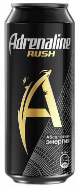 Энергетический напиток Adrenaline Rush ж/б, 440мл