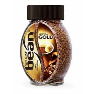 Кофе растворимый Great Bean Gold, 75 гр., стекло