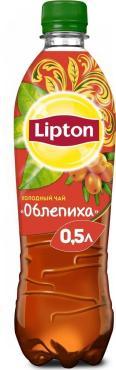 Чай холодный со вкусом облепихи, Lipton, 500 мл., пластиковая бутылка