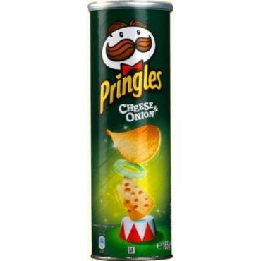 Чипсы картофельные Pringles Сыр и лук