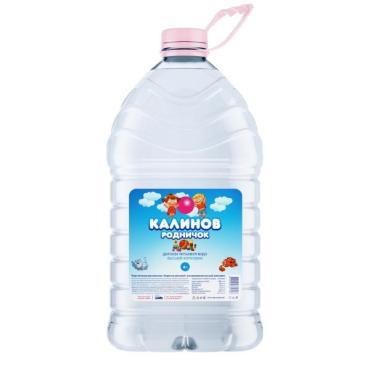 Вода Калинов Родничок для детей негазированная