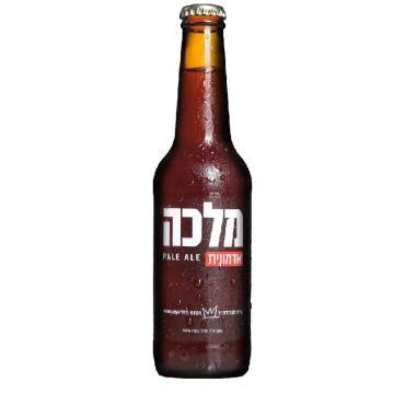 Пиво Malka Pale Ale светлое нефильтрованное непастеризованное 5,5%