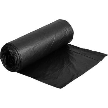 Мешок мусорный ПНД черные 60л, 20шт