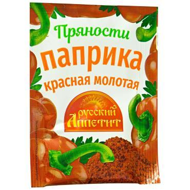 Приправа Русский аппетит Паприка красная молотая