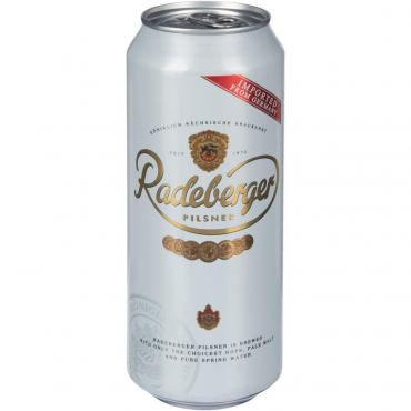 Пиво Radeberger Pilsner светлое фильтрованное 4,8%