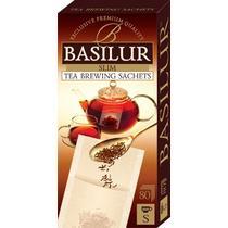 Чай в одноразовых фильтр-пакетах 80 шт Basilur, 45 гр., картонная коробка
