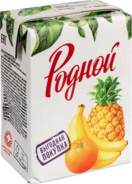 Напиток Родной Сокосодержащий мультифрукт