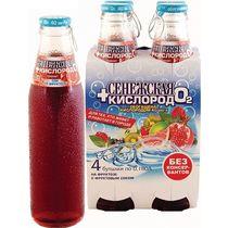 Напиток безалкогольный газированный Сенежская со вкусом граната на фруктозе 0,18 л.