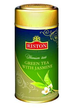 Чай Riston Green Tea зеленый с жасмином