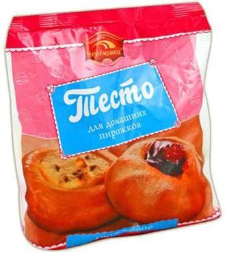 Тесто дрожжевоев шариках, Черемушки, Фростмо, 600 гр., флоу-пак