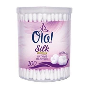 Ватные палочки Ola! Silk Sense 100шт