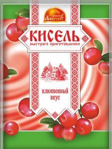Кисель Малина Русский аппетит, 90 гр., сашет