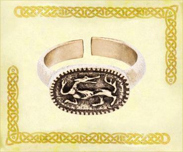 Кольцо Кудесы, 9036 латунь, Размер 20