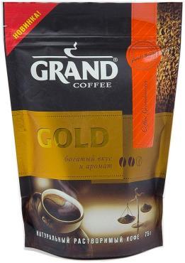 Кофе Grand Голд растворимый